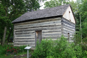 The oldest structure in Lake County - not often you can see something 175 years old!